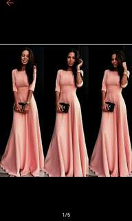 Party Ball Prom Gown Formal Bridesmaid Cocktail Dress