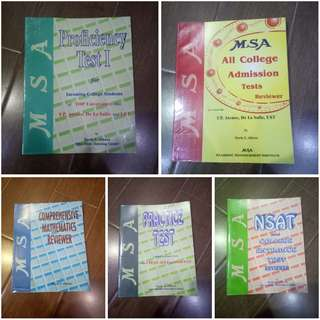 MSA Reviewer for College Entrance Exams