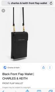 LOOKING FOR Charles and Keith Front Flap Wallet