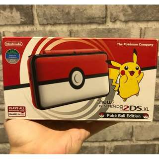 [BNIB] Nintendo 2DS XL Pokèball Edition + 1 Free Game