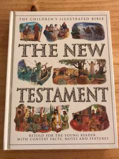 Children's illustrated bible The New Testament
