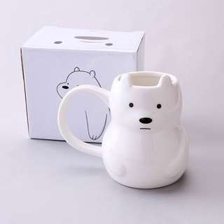 We Bare Bears ( Ice Bear ) Mug / Cup ( D1 )