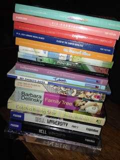 Random books(lahat nang books na yan sa iyo na )