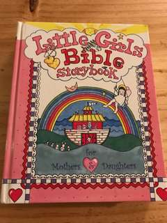 Little girls bible storybook for mothers & daughters