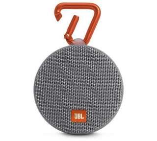 JBL Clip 2 Waterproof Portable Wireless Speaker - Grey