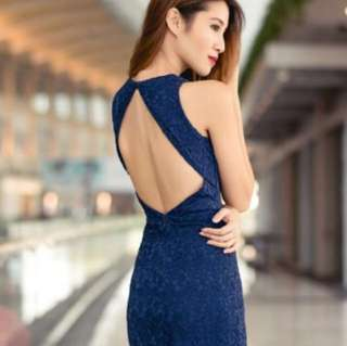 BN THREADTHEORY Bring Sexy Back dress in Navy, XS