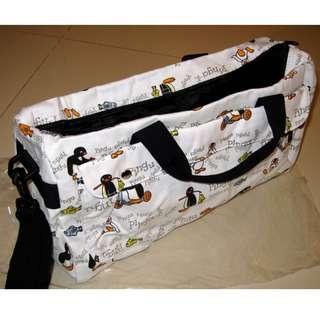 [全新] Pingu bag 企鵝 旅行袋 側揹袋 手挽袋 (100% NEW) Pinga