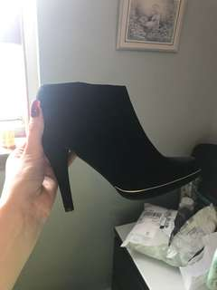 Black high heel boots - from Call it Spring