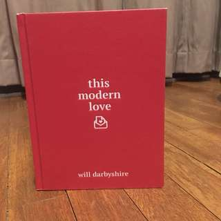 English book (This modern love - Will darbyshire)