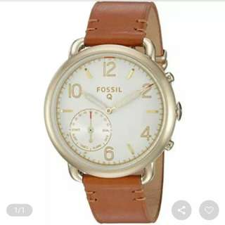 Fossil Q Smartwatch Womens leather brown