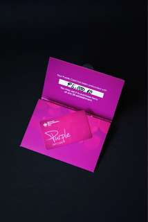 SSI Purple Gift Card Worth Php 5,000 with Receipt