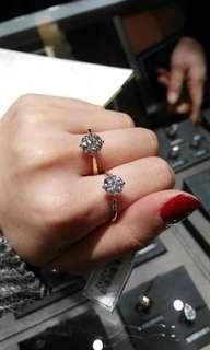 各類型卡裝 鑽石 鑽戒 0.24ct up GIA證書