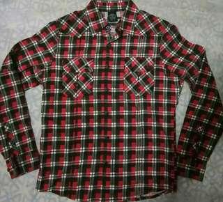 Buy 1 Take 1 Black Red Chekered Long Sleeves