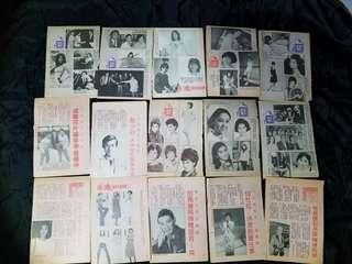 (6號)全部15張$40元 老香港懷舊物品