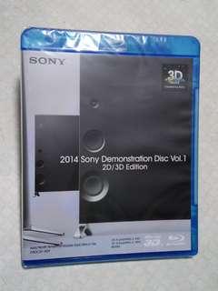 \全新未拆 原裝正版/ 只此一隻  [日本製造  SONY HD 1080 ◆3D◆ Bluray blu-ray 3D◆高清藍光碟 DEMO試機碟]