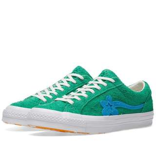[PO] Converse x Golf Le Fleur One Star Green