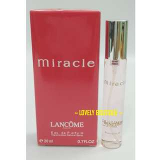 Perfume MIRACLE Fragrances 20ml For Woman