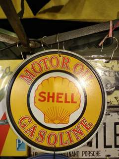 Tin signage (original) made in USA