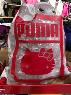 Hello kitty PUMA 束口袋