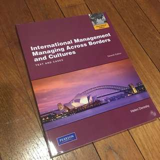 International Trade Textbook International Management Managing Across Borders and Cultures