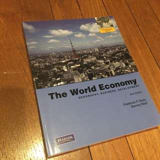 International Trade Textbook The World Economy 6th Edition
