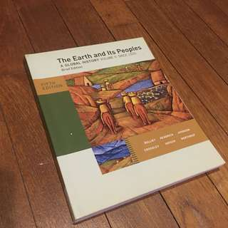 UGC Textbook The Earth and Its People A Global History Volume II