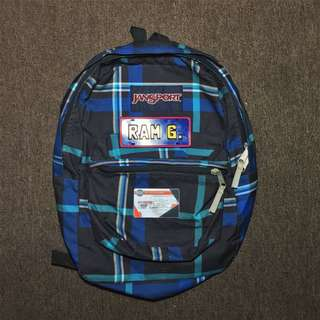 Jansport Checkered Backpack