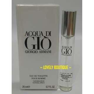 Men Perfume ACQUA DI GIO Fragrances 20ml