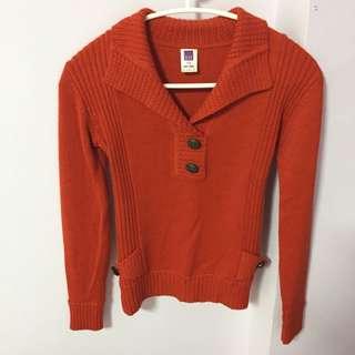 🚚 #伊蕾#買了沒穿過#紅色#針織#顯瘦版型