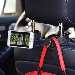 Car bag groceries holder cum handphone Holder