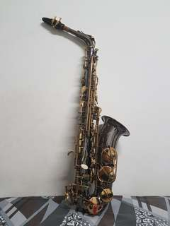 Chateau Black Nickel Alto Saxophone