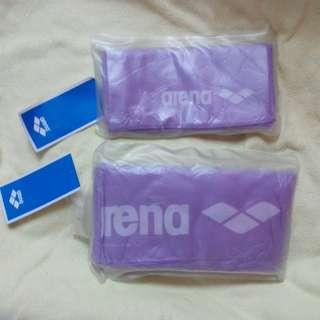 Arena Deluxe Sport Towels Purple 快乾運動毛巾 紫色