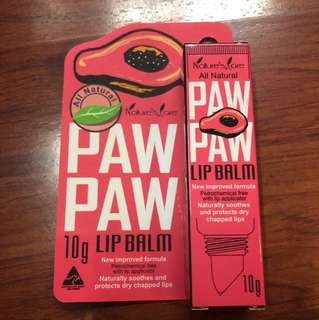 New 🌟Natures Care Paw Paw Lip Balm 🌟