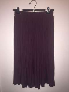 Wilfred Pleated Skirt - M