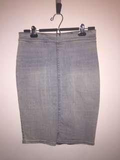 The Casting Denim Skirt - 6