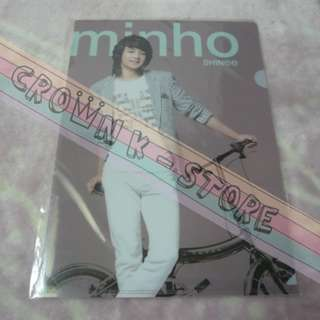 [CRAZY DEAL 90% OFF FROM ORIGINAL PRICE][READY STOCK]SHINee MINHO KOREA OFFICIAL A4 SIZE CLEAR FILE 1PC!!OFFICIAL ORIGINAL FROM KOREA (PRICE NOT INCLUDE POSTAGE)PLEASE READ DETAILS FOR MORE INFO
