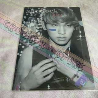 [LAST 1][CRAZY DEAL 90% OFF FROM ORIGINAL PRICE][READY STOCK]SHINee KEY KOREA OFFICIAL A4 SIZE CLEAR FILE 1PC!!OFFICIAL ORIGINAL FROM KOREA (PRICE NOT INCLUDE POSTAGE)PLEASE READ DETAILS FOR MORE INFO