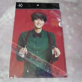 [CRAZY DEAL 90% OFF FROM ORIGINAL PRICE][READY STOCK]EXO TAO KOREA OFFICIAL A4 SIZE CLEAR FILE 1PC!!OFFICIAL ORIGINAL FROM KOREA (PRICE NOT INCLUDE POSTAGE)PLEASE READ DETAILS FOR MORE INFO