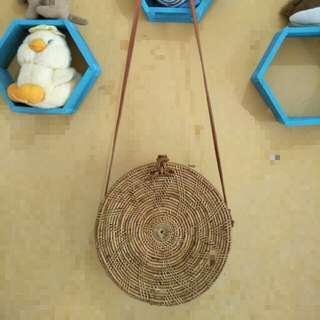 Tas rotan handmade lombok