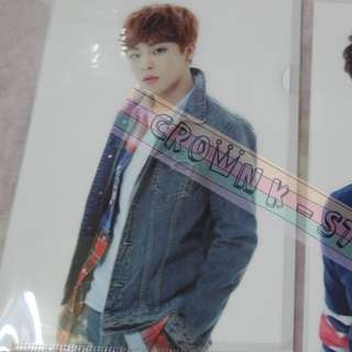 [LAST 1][CRAZY DEAL 90% OFF FROM ORIGINAL PRICE][READY STOCK]EXO XIUMIN KOREA OFFICIAL A4 SIZE CLEAR FILE 1PC!!OFFICIAL ORIGINAL FROM KOREA (PRICE NOT INCLUDE POSTAGE)PLEASE READ DETAILS FOR MORE INFO