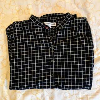 Uniqlo Flannel Blouse