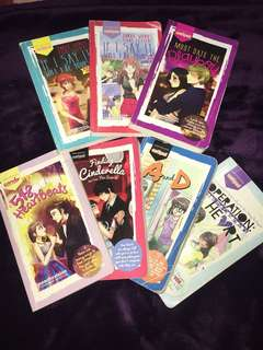 7 Wattpad books bundle set