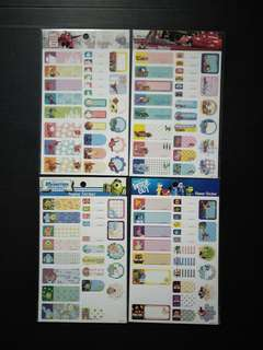 Disney Name Stickers