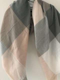 Plaid super soft scarf