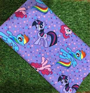 The little Pony husk pillow / beany / beanie / bolster case / pillow case