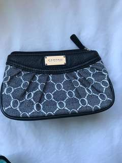 OROTON: black mini makeup bag