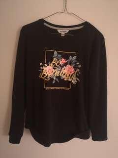Black medium sweater