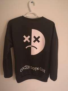 Black sweater large