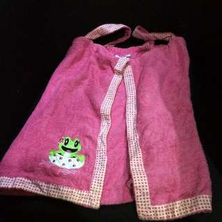 Toddler Bath Towel