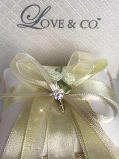 [GIA 0.48c]Diamond White Gold Ring